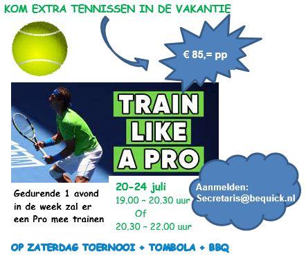 train like a pro
